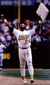 Rickey Henderson, Man of Steal