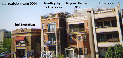 Rooftops in Left Field