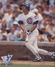 A Ryne Sandberg Card Distributed at a Cubs Convention